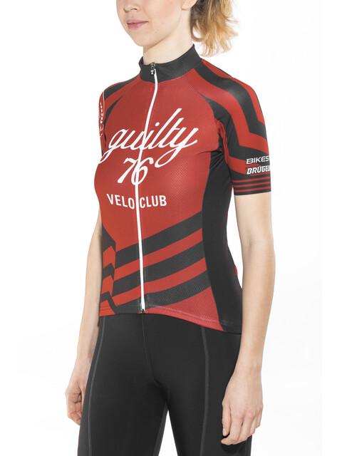 guilty 76 racing Velo Club Pro Race Jersey Women red